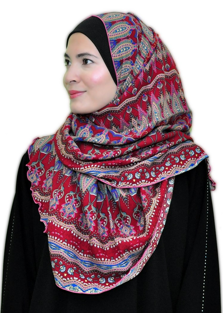 Viscose shawl